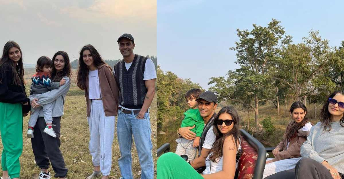 Arjun Rampal's 'mesmerising' time amid Satpura tigers with family
