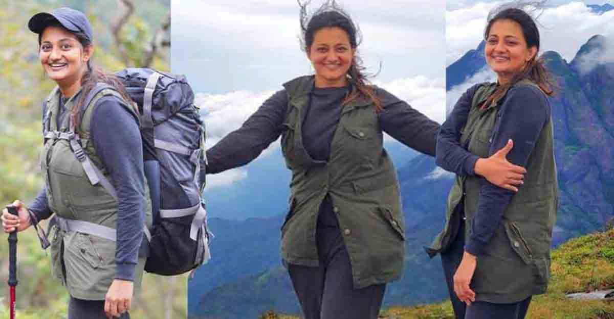 Actress Priyanka's unforgettable expedition to Agasthyarkoodam peak