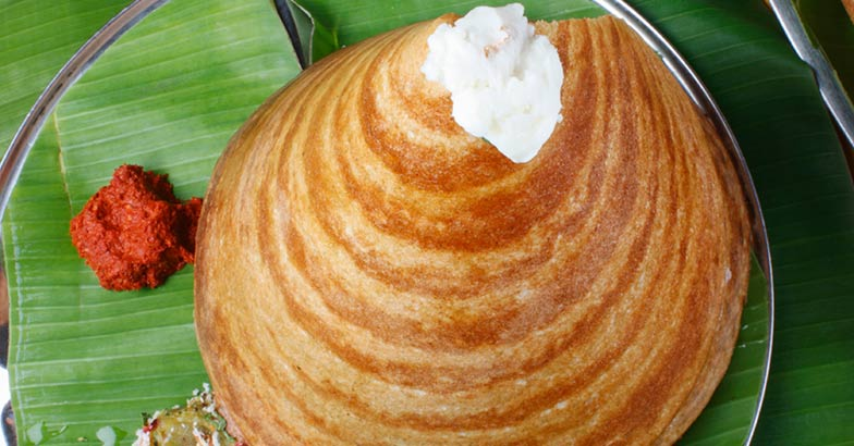 Ghee Roast Dosa – a pancake from South India