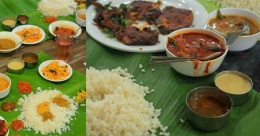Dock at Kozhikode's Ambika Hotel for a 'samudra sadya' with 18 seafood dishes