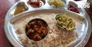 Vlogger Mrinal loves the fish dishes at this 'veettiloonu' in Kottayam