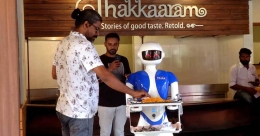 Kochi's first robotic restaurant is open