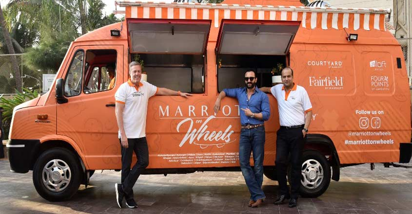 Marriot International Inc. launches maiden food truck in India