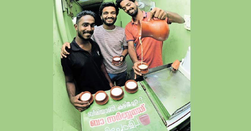 For the love of sarbath, techies set up a shop in Kozhikode