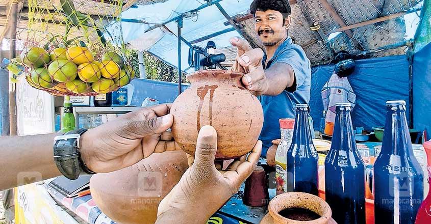 Visit 'Yamis' in Kochi for refreshing sambaram in earthen pots