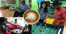 Cocktail of camaraderie with board games and much more @Tvm's Eve's Coffee