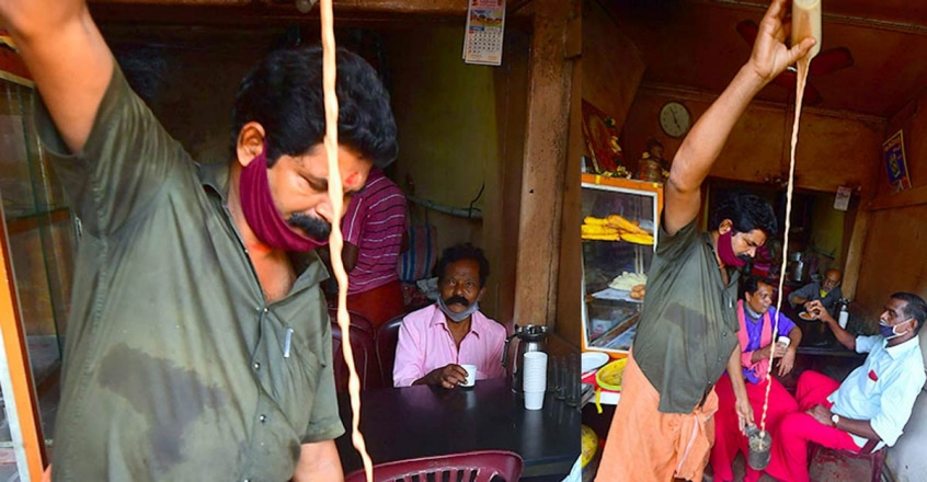 The tea master who strives to win back life after lockdown