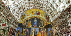Fading mural paintings of Cheriya Palli in Kottayam restored