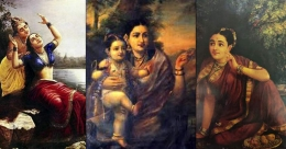A walk through the master strokes of Raja Ravi Varma