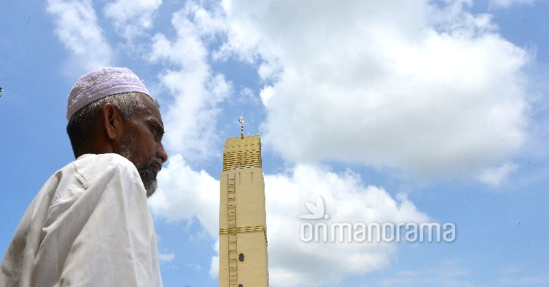 Eid, prayers and a mosque in focus