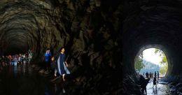 Anchuruli tunnel, popularised by 'Iyobinte Pusthakam'