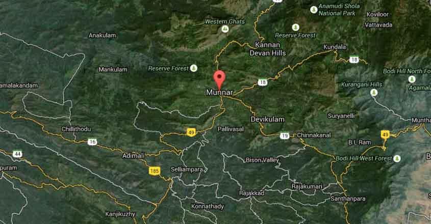 munnar-map