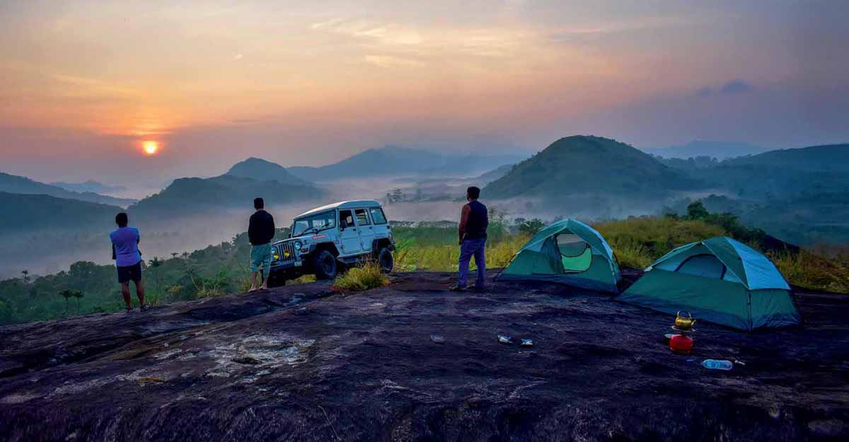 A night under the stars at Venmanimedu in Idukki
