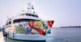 An ethereal cruise along the Arabian Sea with Nefertiti