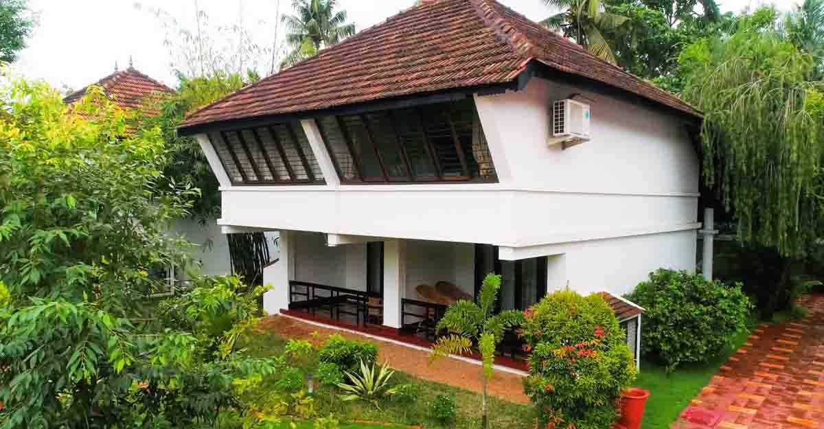 An Ayurvedic spa nestled in Kochi groves
