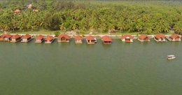 Of serene backwaters and floating cottages of Poovar