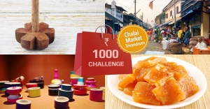 Rs 1000 shopping challenge in Chalai market