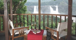 Rainforest Resort lies in the lap of Athirappilly falls