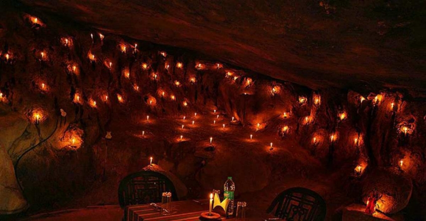Head to Wayanad for a candlelight dinner in the caves