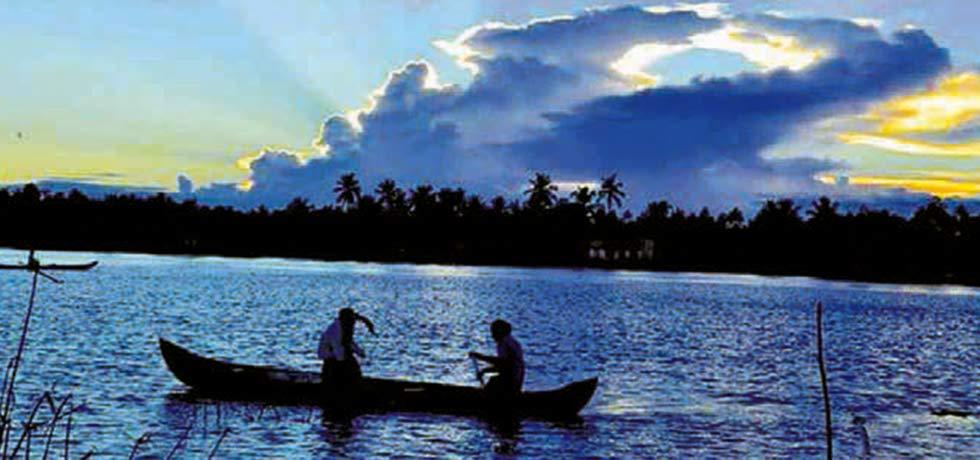 A view of Kakkathuruthu