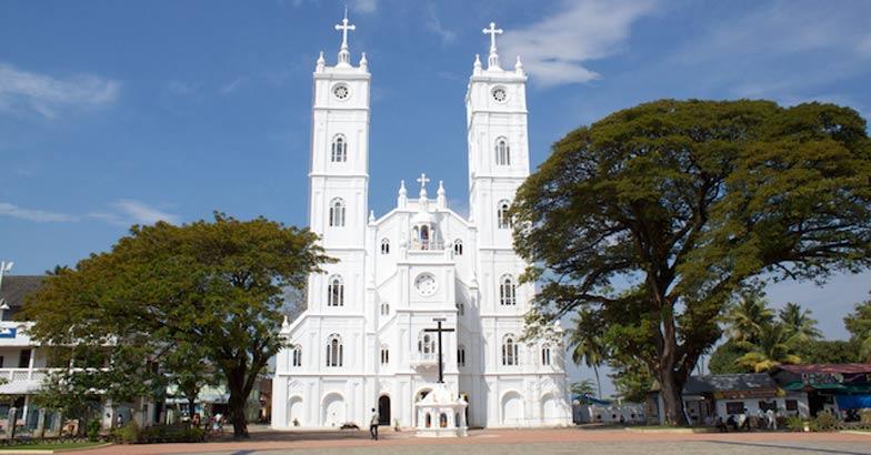 Basilica of Our Lady of Ransom, Vallarpadam-Ernakulam