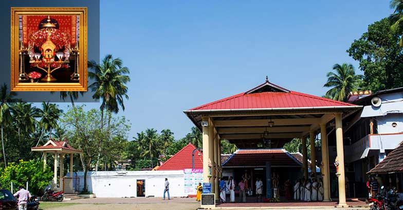 Emoor bhagavathy temple: Where goddess Hemambika sits in the middle of a pond