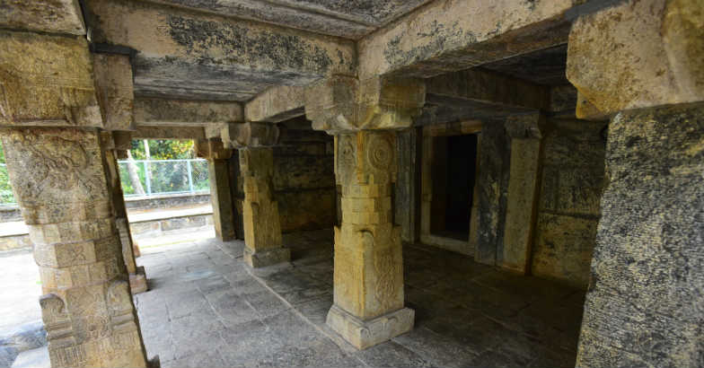 The relics of an ancient Jain culture at Sulthan Bathery