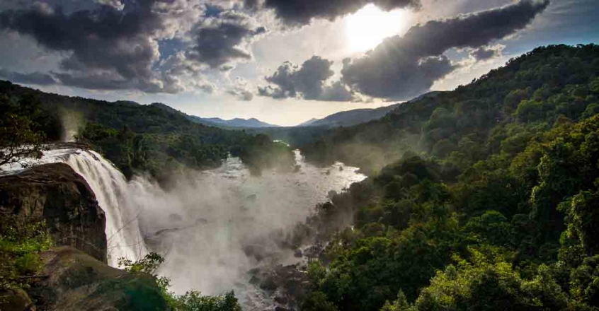 Aima Rosmy shares pictures from her Athirappilly trip
