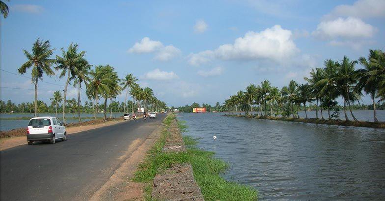 Alappuzha-Changanassery Road