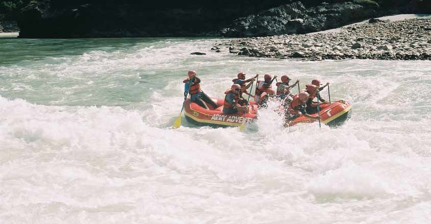 Top 5 places to go river rafting in India