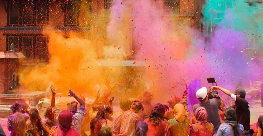 Nine versions of Holi you didn't know existed