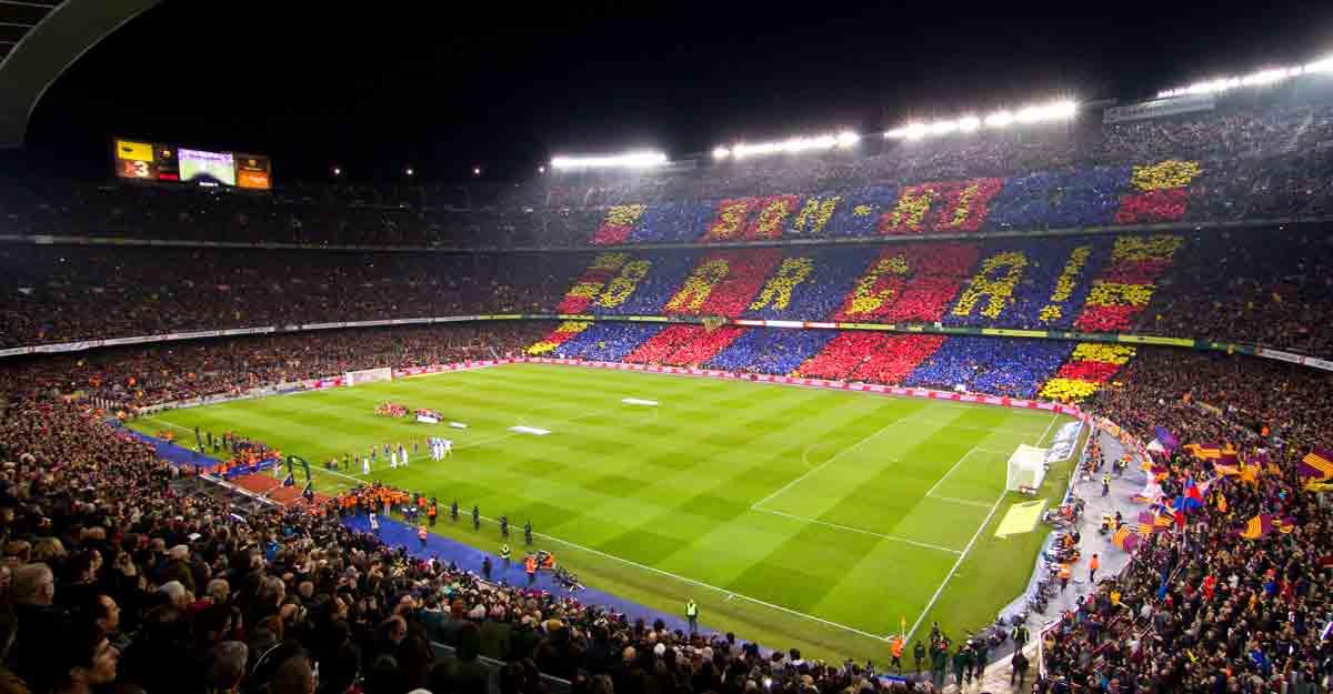 Camp Nou stadium of FC Barcelona