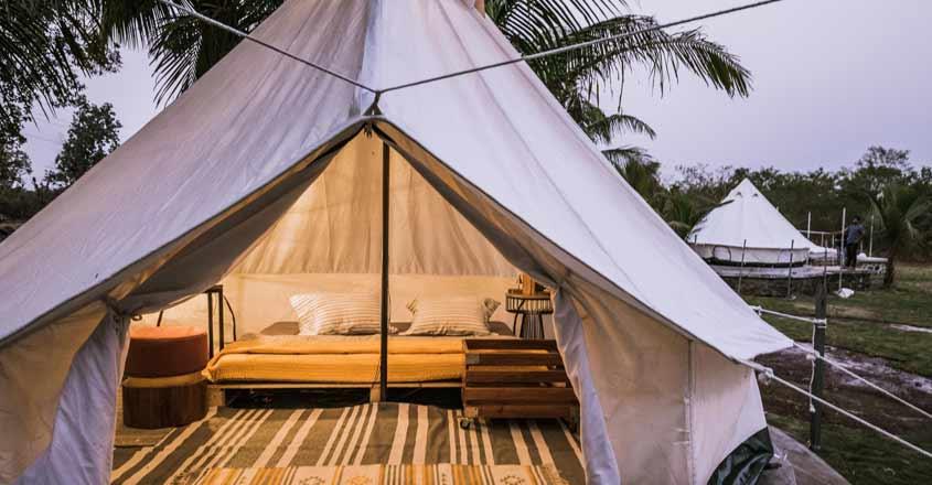 Camping Vs Glamping.