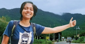 Thrissur girl's lessons on how to travel without a penny