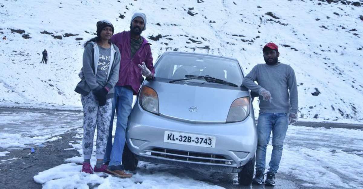 A cool couple, Tata Nano and a fun trip to Manali from Kochi