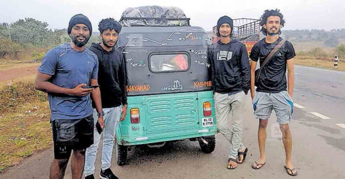 From Wayanad to Kashmir: All the way in an autorickshaw