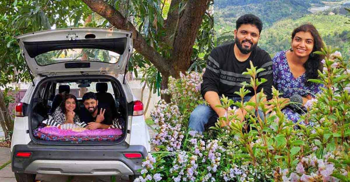 National Tourism Day Special: Keralite couple who are touring the country in a car