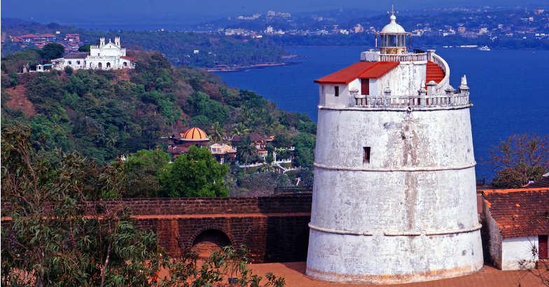 The lighthouse near Fort Aguanda