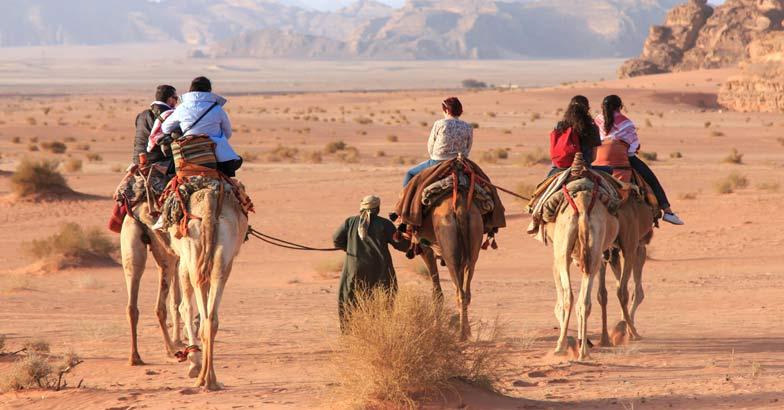 Jordan: A trip through the valley of moonlight