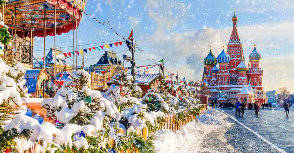 Here are the countries that celebrate Christmas in January