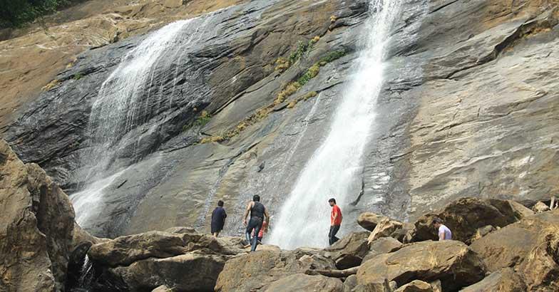 Mazhavil Waterfalls
