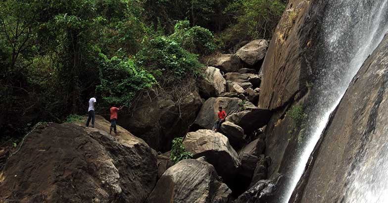 A trek to discover and explore the Rainbow Waterfalls