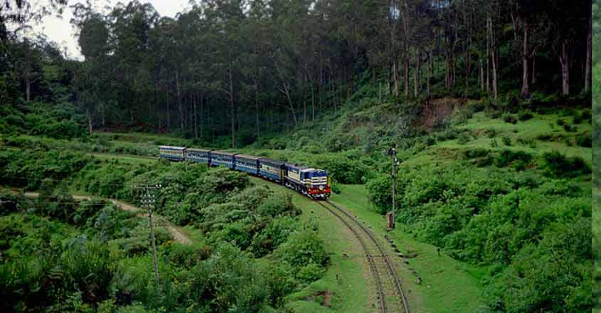 Steam engine back on Nilgiri Mountain Railway