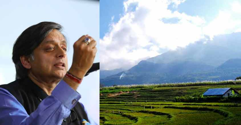 Tourism should develop for the economic growth of country: Tharoor