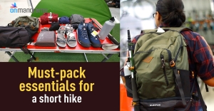 What to pack for a short hike