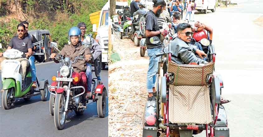 Meet the 'kombans' who travelled Ooty on wheelchairs