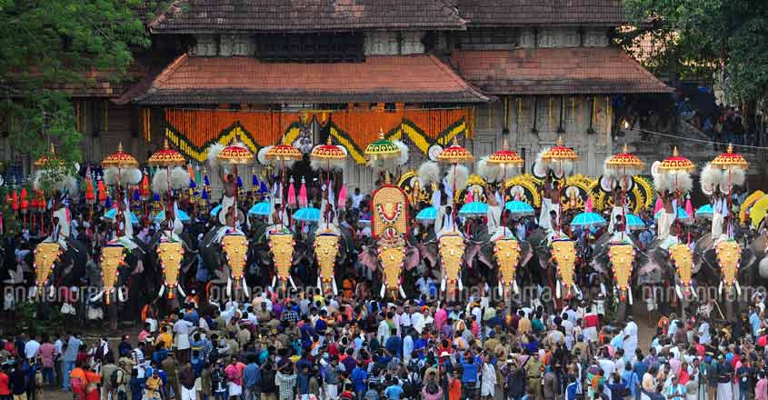 Pooram lovers need to wait for just four more days until the mega spectacle