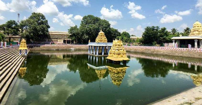 After 40 years under water, Kancheepuram temple deity to open for devotees