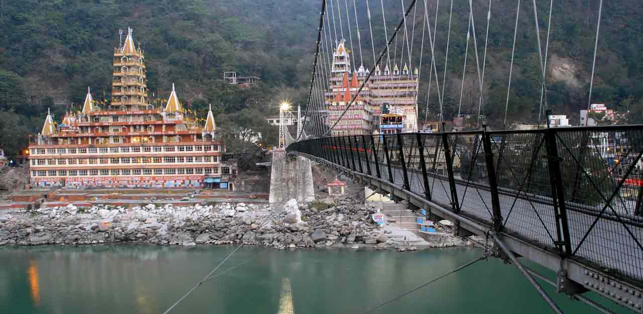 Rishikesh's iconic Laxman Jhula bridge closed