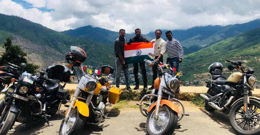 7000-km ride in 16 days: Thrissur bikers cover neighbouring countries on Harley Davidson
